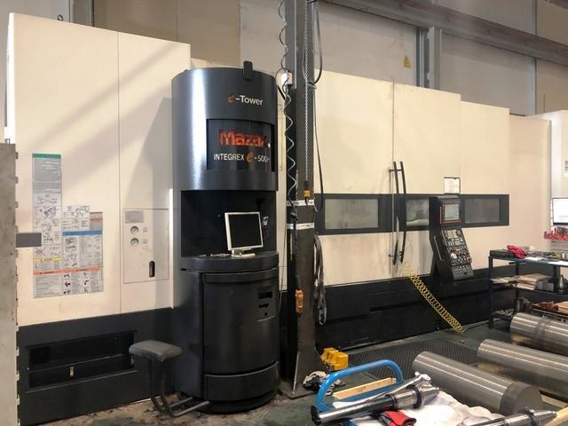 more images Lathe machine Mazak Integrex e-500H II x 3000 U