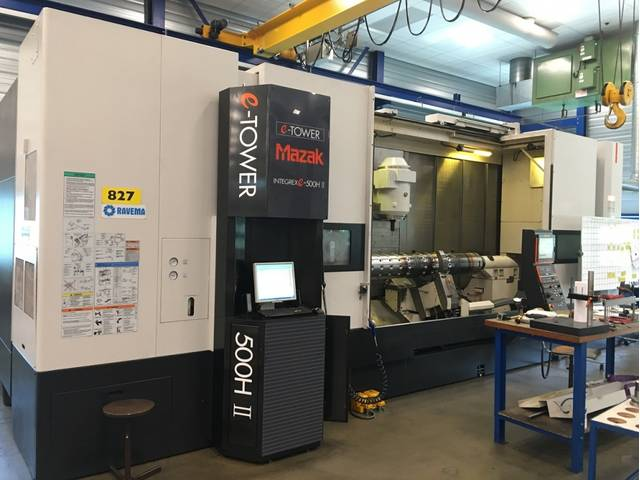 more images Lathe machine Mazak Integrex e-500H II x 3000 U