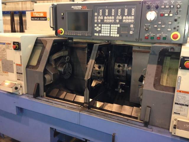 more images Lathe machine Mazak Multiplex 6200 Y