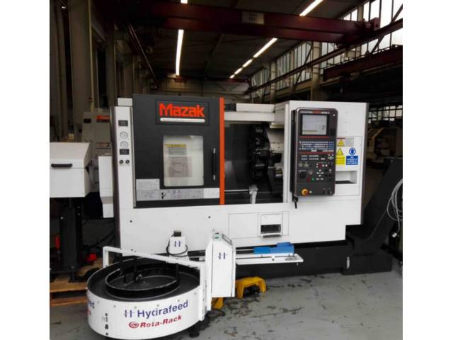 more images Lathe machine Mazak QT Nexus 200 MS II
