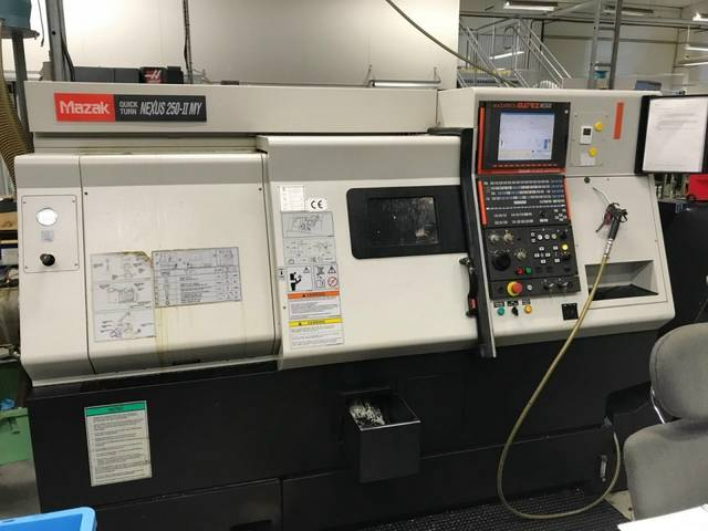 more images Lathe machine Mazak QT Nexus 250 II MY