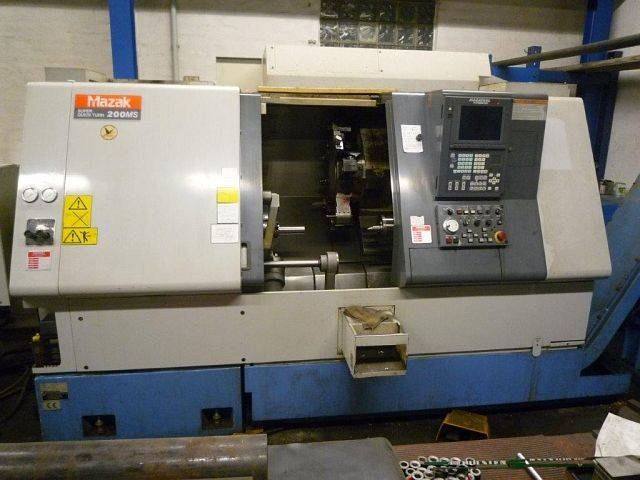 more images Lathe machine Mazak SQT 200
