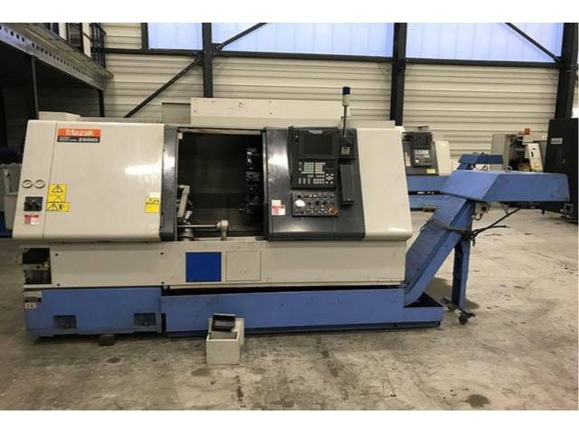 more images Lathe machine Mazak SQT 200 MS