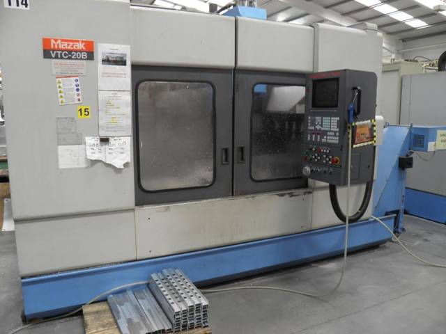 more images Milling machine Mazak VTC 20 B, Y.  1997