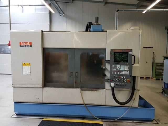 more images Milling machine Mazak VTC 20 B