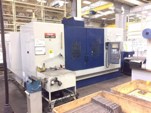 more images Milling machine Mazak VTC 300 C, Y.  2001