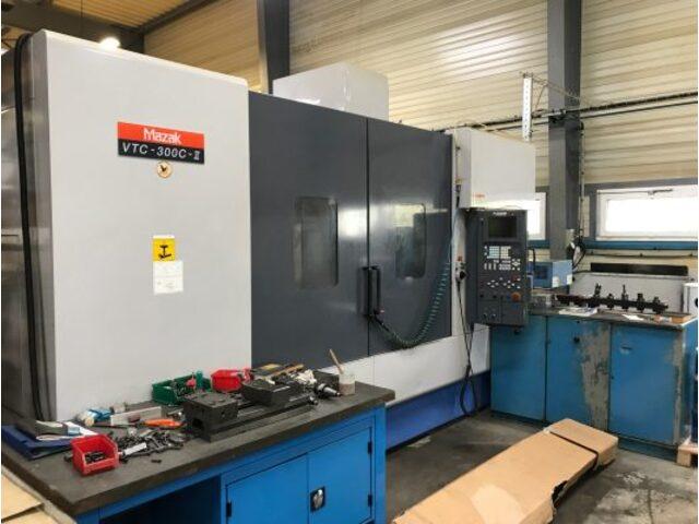 more images Milling machine Mazak VTC 300 C II, Y.  2002