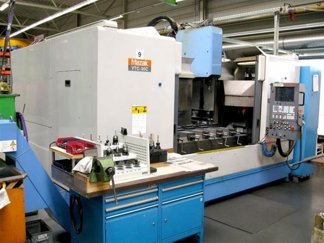 more images Milling machine Mazak VTC 30 C