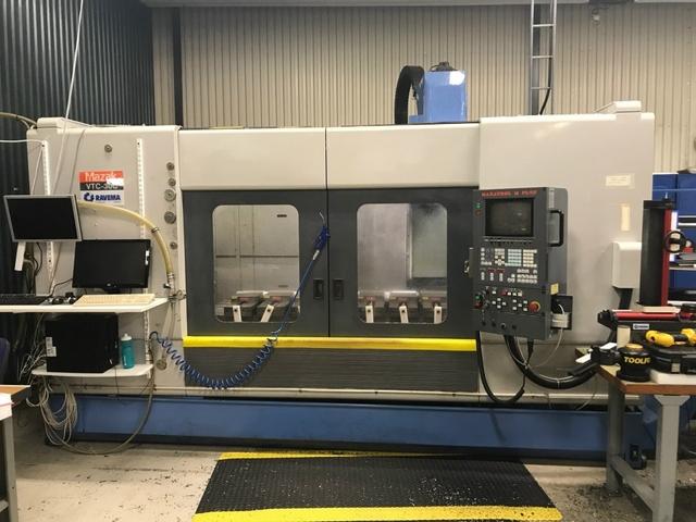 more images Milling machine Mazak VTC 30 C, Y.  1998