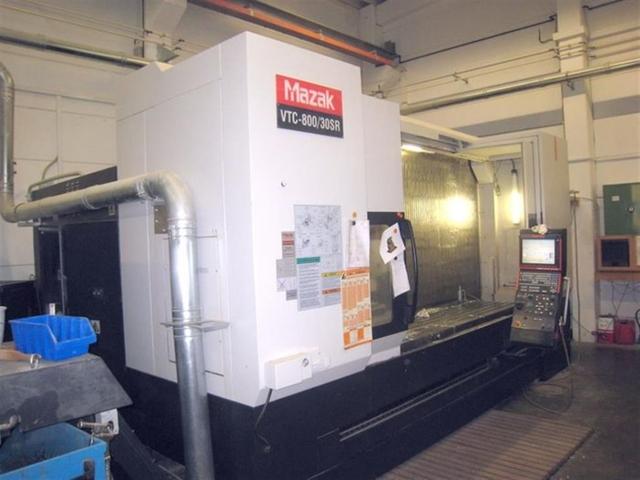 more images Milling machine Mazak VTC 800 / 30 SR, Y.  2009