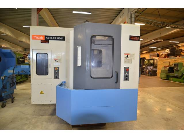 more images Milling machine Mazak Variaxis 500 5X, Y.  2003