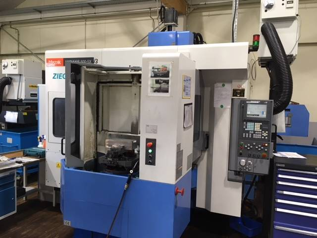 more images Milling machine Mazak Variaxis 500 5X II