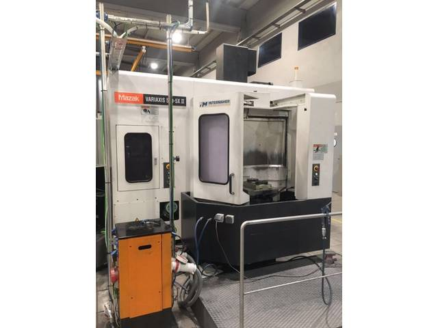 more images Milling machine Mazak Variaxis 500 5X II, Y.  2007