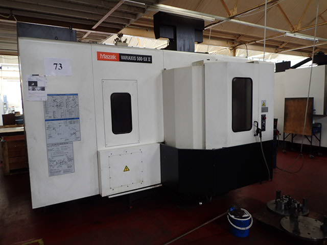 more images Milling machine Mazak Variaxis 500 5X II, Y.  2012