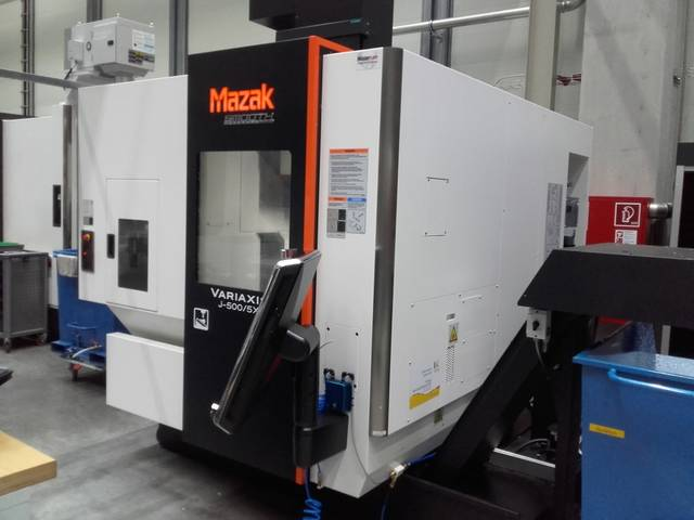more images Milling machine Mazak Variaxis j500 5X
