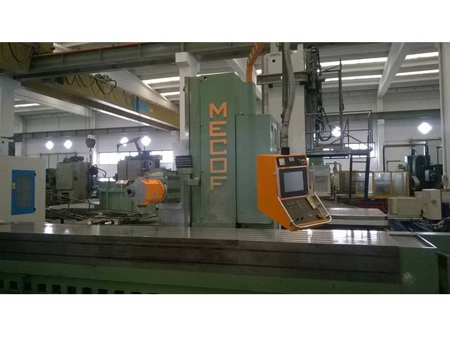 more images Mecof CS 88 G x 4300 Bed milling machine