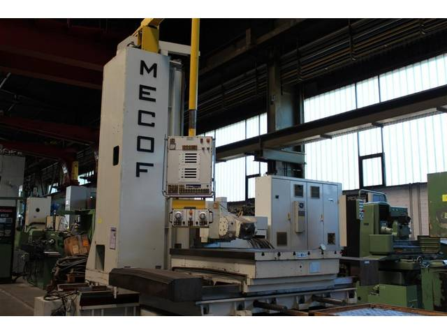 more images Mecof HVM 5000 Bed milling machine