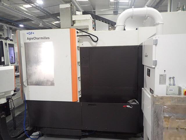 more images Milling machine Mikron HPM 450 U  7 apc, Y.  2012