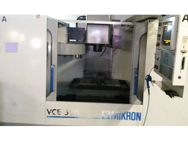 more images Milling machine Mikron Haas VCE 500, Y.  1997