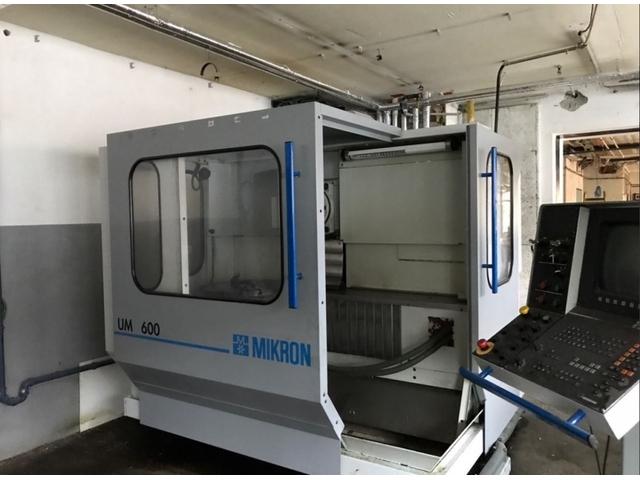more images Milling machine Mikron UM 600