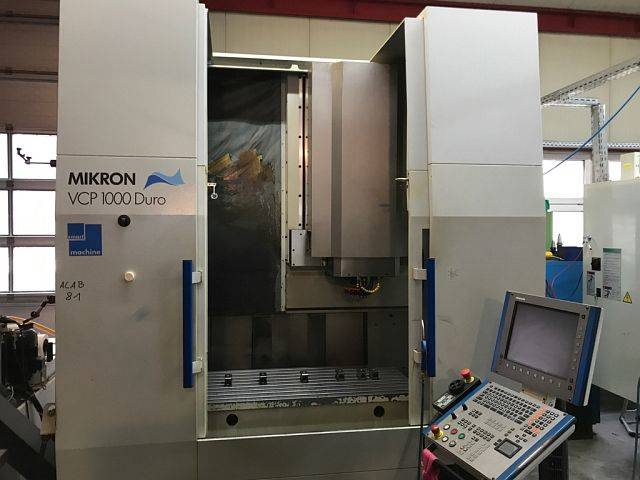 more images Milling machine Mikron VCP 100 Duro, Y.  2004