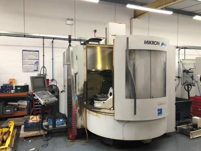 more images Milling machine Mikron XSM 600 U 7 apc, Y.  2006