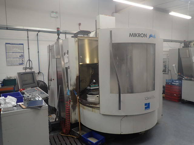 more images Milling machine Mikron XSM 600 U, Y.  2006