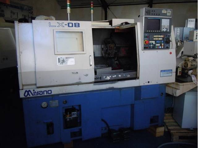 more images Lathe machine Miyano LX 08
