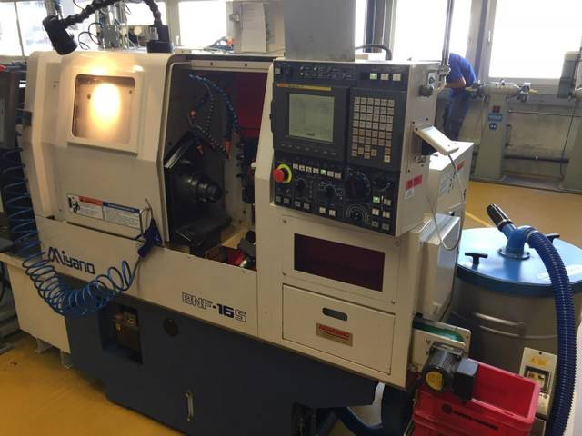 more images Lathe machine Miyano BNF 16 S
