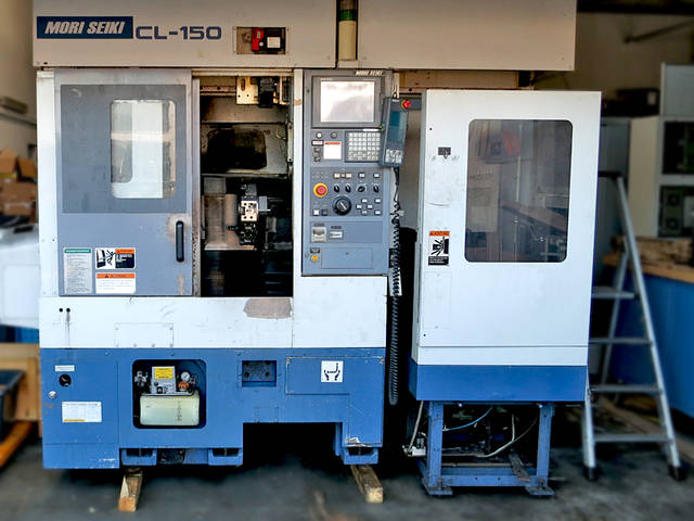 more images Lathe machine Mori Seiki CL 150 ladeportal/gentry