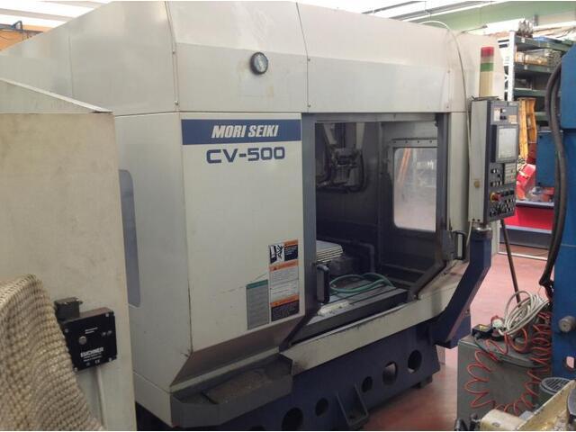 more images Milling machine Mori Seiki CV 500, Y.  0