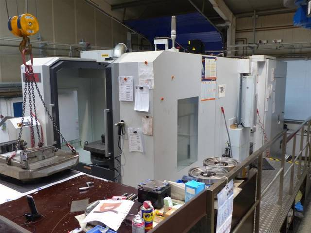 more images Milling machine Mori Seiki NMH 6300 DCG, Y.  2013