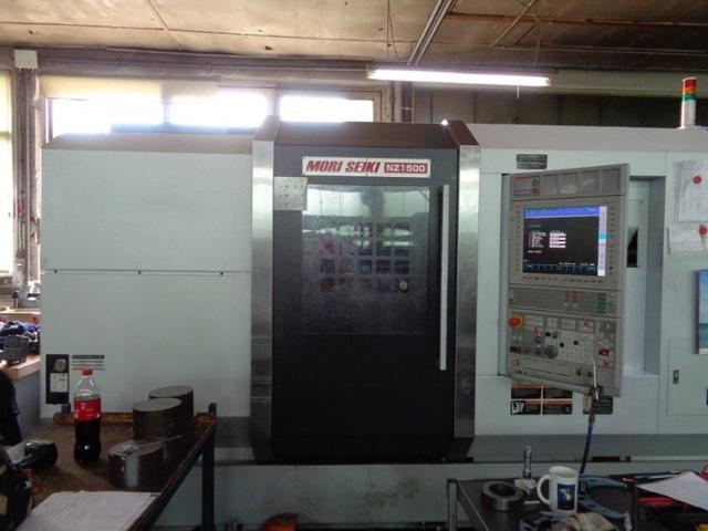 more images Lathe machine Mori Seiki NZ 1500 T2Z