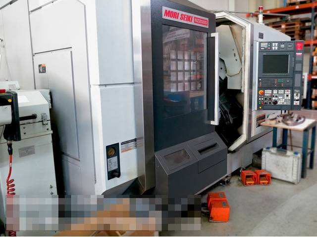 more images Lathe machine Mori Seiki NZ 2000 T3Y3