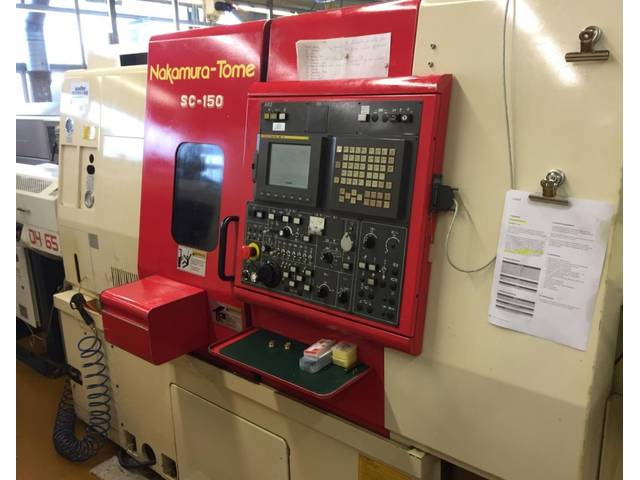 more images Lathe machine Nakamura - Tome SC 150