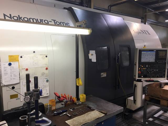 more images Lathe machine Nakamura Super NTX - S