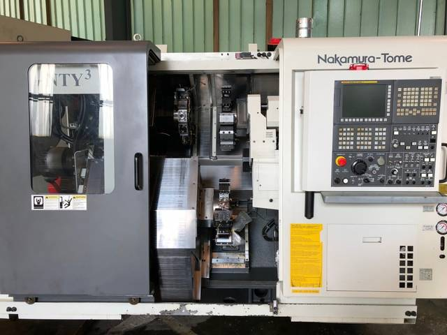 more images Lathe machine Nakamura Tome Super NTY 3