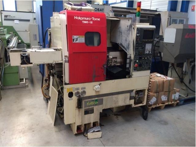 more images Lathe machine Nakamura TMC 12
