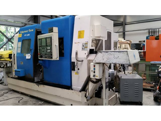 more images Lathe machine Nakamura WT 250