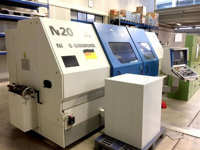 more images Lathe machine Niles-Simmons N 20 x 2000