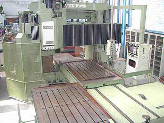 more images Okuma MCV 16A atc x 2000 Bed milling machine