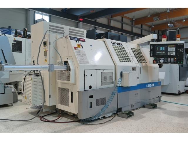 more images Lathe machine Okuma LB 15 II M 1000