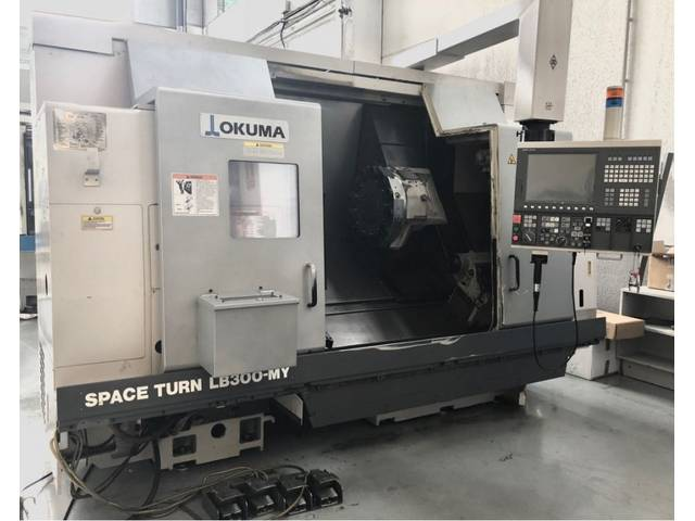 more images Lathe machine Okuma LB 300 MY x 960