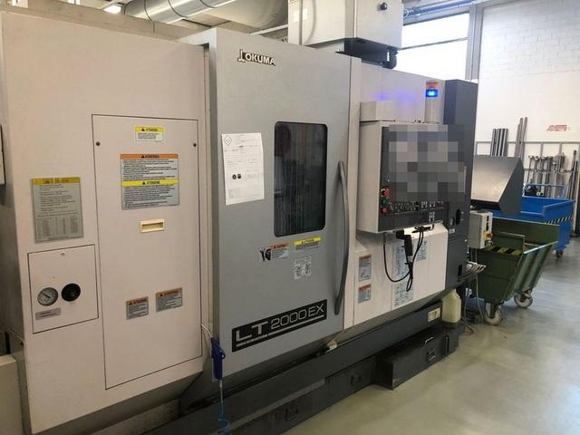 more images Lathe machine Okuma LT 2000 EX