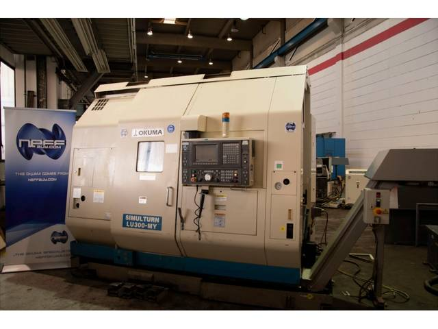 more images Lathe machine Okuma LU - 300MY - 2SC - 600