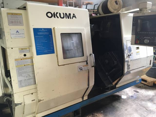 more images Lathe machine Okuma LU 15