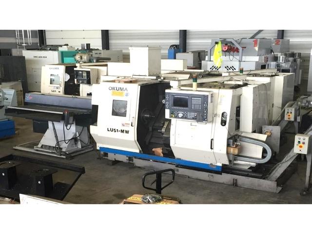 more images Lathe machine Okuma LU 15 MW