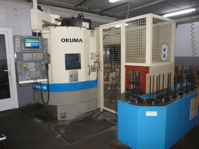 more images Lathe machine Okuma LVT 300 M