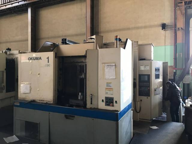more images Milling machine Okuma MA 500 HB, Y.  2001