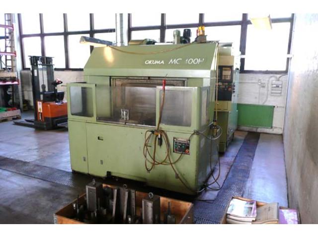 more images Milling machine Okuma MC 400 H, Y.  1991